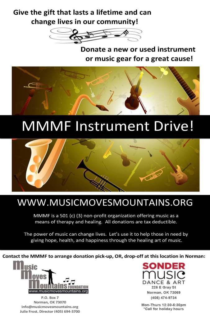 MMMF Instrument Drive